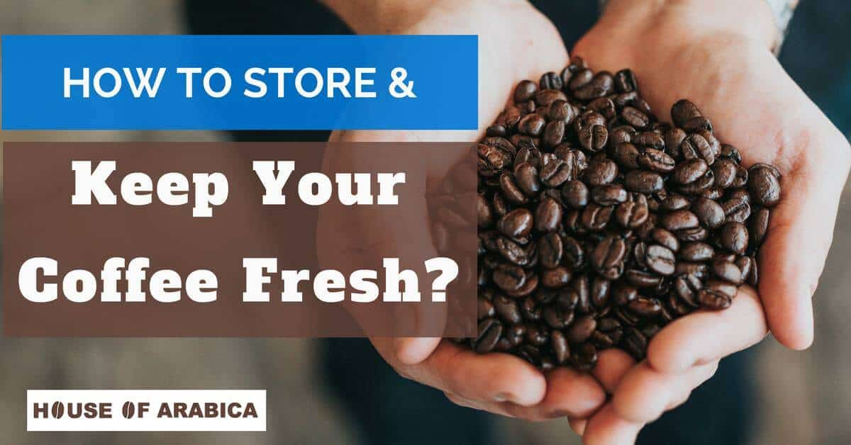 How To Store And Keep Your Coffee Beans Fresh