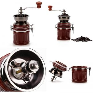 3E Home Canister Burr Coffee Mill