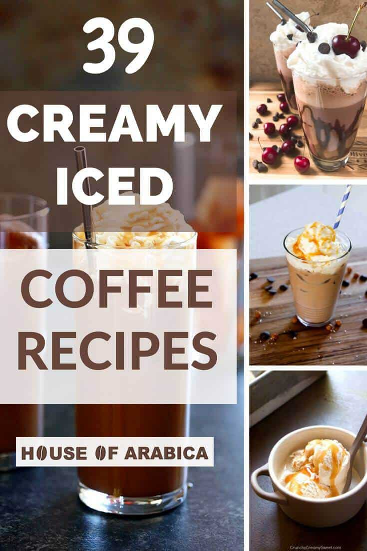 Easy Creamy Iced Coffee Recipes